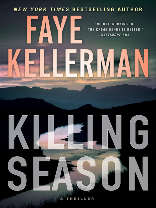 Title details for Killing Season by Faye Kellerman - Wait list
