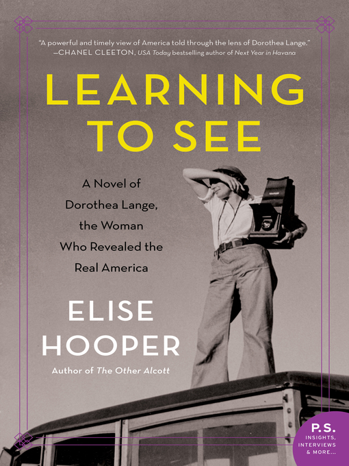 Title details for Learning to See by Elise Hooper - Wait list
