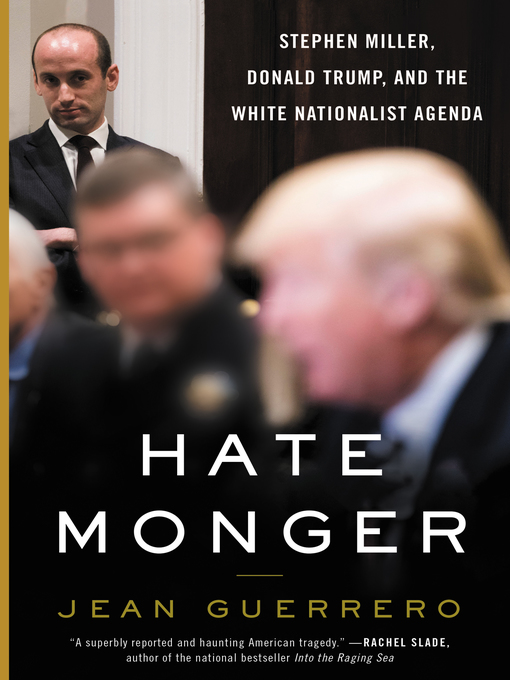 Title details for Hatemonger by Jean Guerrero - Available
