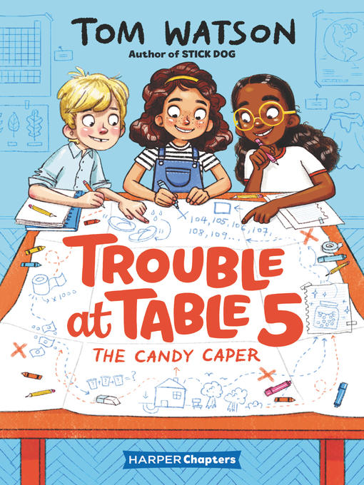Title details for Trouble at Table 5 #1 by Tom Watson - Wait list