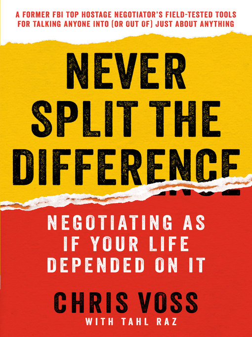 Title details for Never Split the Difference by Chris Voss - Available