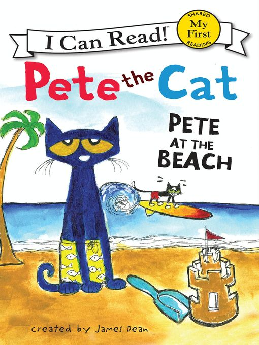 Title details for Pete at the Beach by James Dean - Wait list