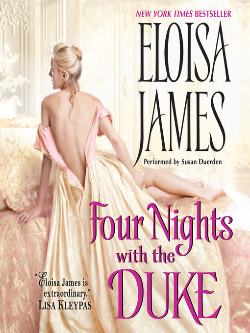 Title details for Four Nights with the Duke by Eloisa James - Available