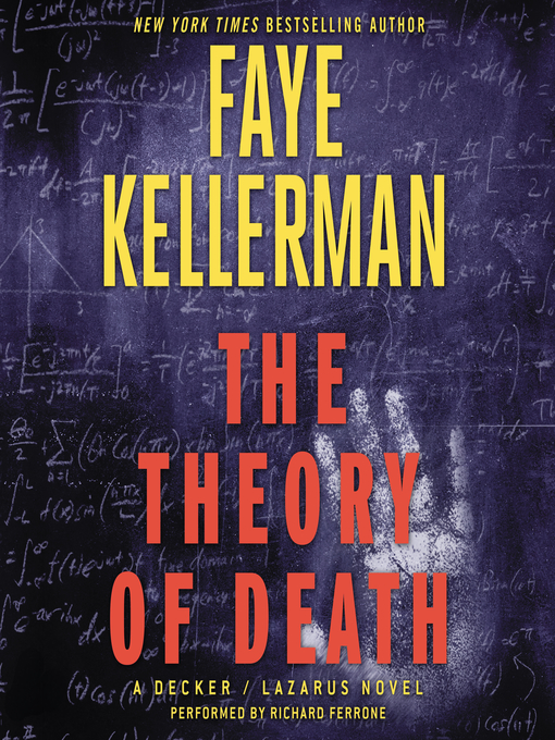 Title details for The Theory of Death by Faye Kellerman - Wait list