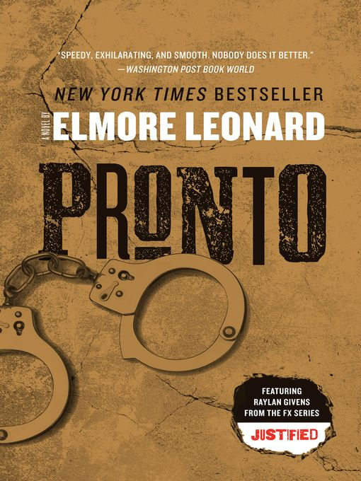 Title details for Pronto by Elmore Leonard - Available