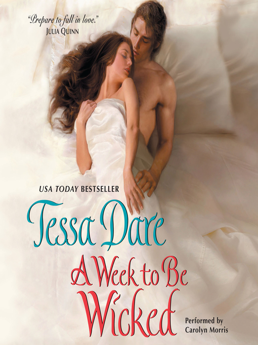 Title details for A Week to Be Wicked by Tessa Dare - Available