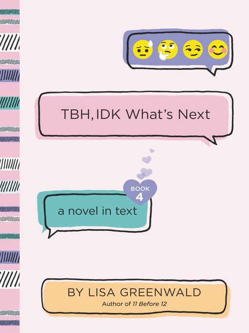 Title details for TBH #4 by Lisa Greenwald - Wait list