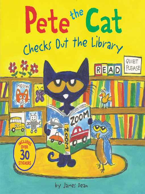 pete the cat checks out the library navy general library program