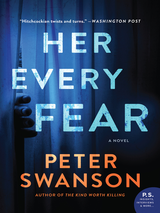 Title details for Her Every Fear by Peter Swanson - Wait list
