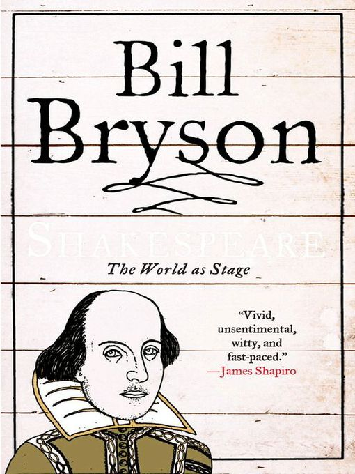 Title details for Shakespeare by Bill Bryson - Available