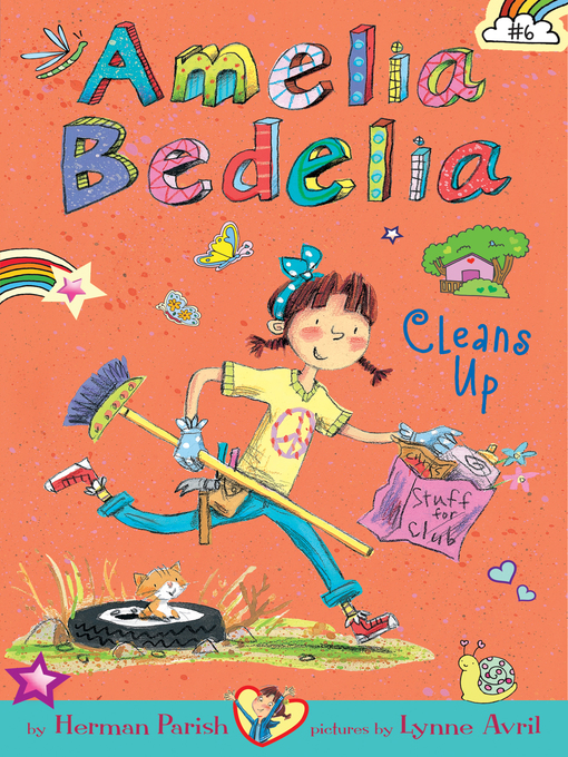 Title details for Amelia Bedelia Cleans Up by Herman Parish - Wait list