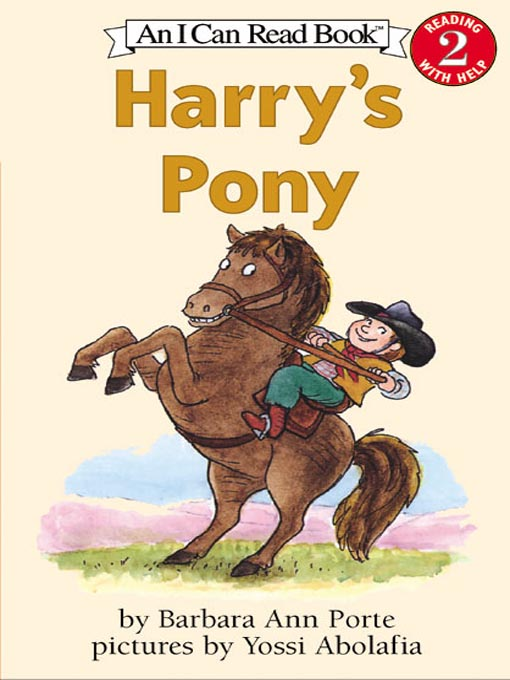 Title details for Harry's Pony by Barbara Ann Porte - Available