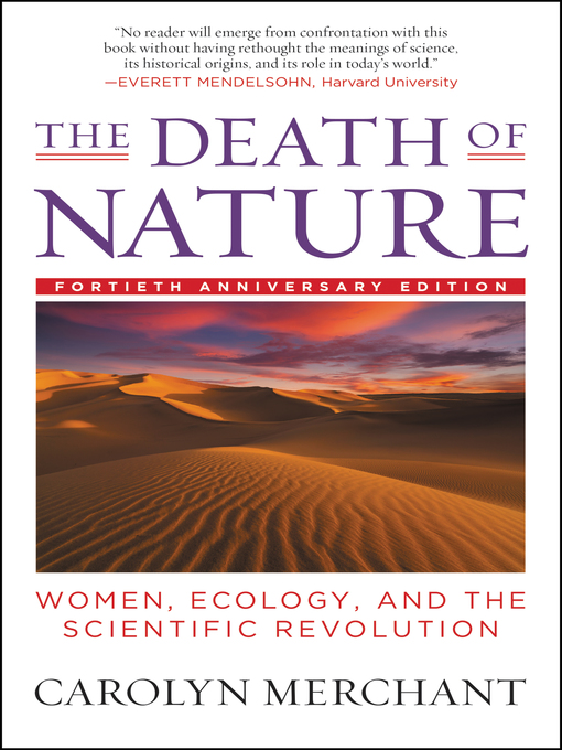 Cover of The Death of Nature