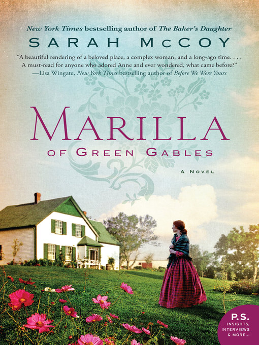 Title details for Marilla of Green Gables by Sarah McCoy - Wait list