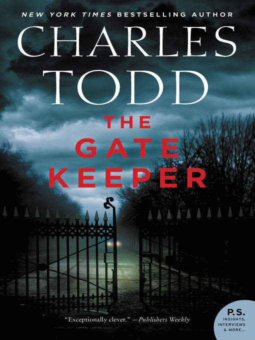 Title details for The Gate Keeper by Charles Todd - Wait list