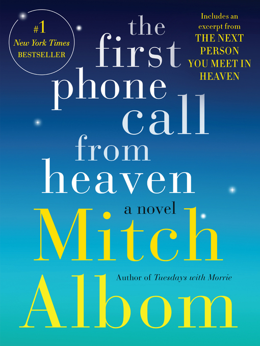 Title details for The First Phone Call From Heaven by Mitch Albom - Wait list