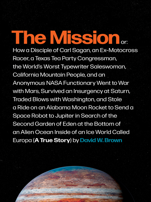 Title details for The Mission by David W. Brown - Wait list