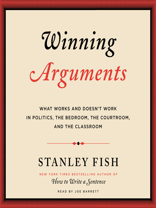 the argument over the truth in stanley fishs rhetoric