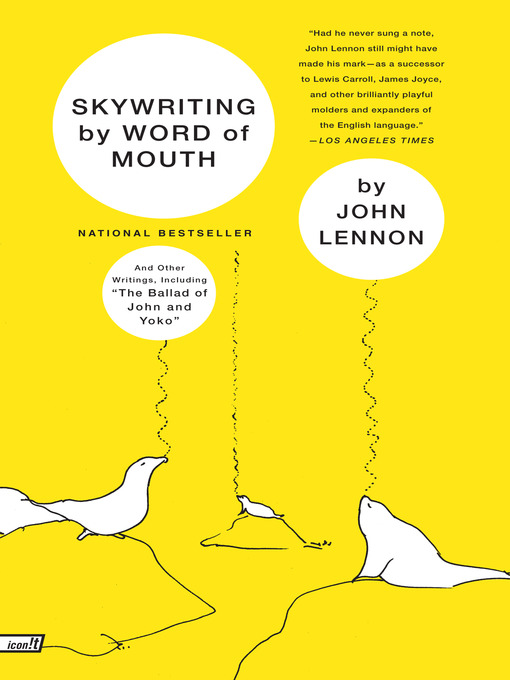 Title details for Skywriting by Word of Mouth by John Lennon - Available