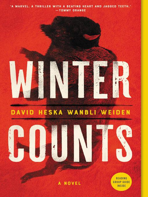 Title details for Winter Counts by David Heska Wanbli Weiden - Wait list