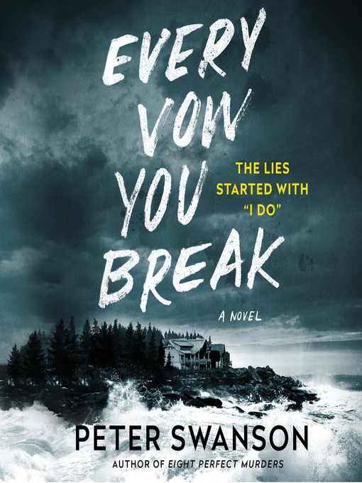 Title details for Every Vow You Break by Peter Swanson - Wait list