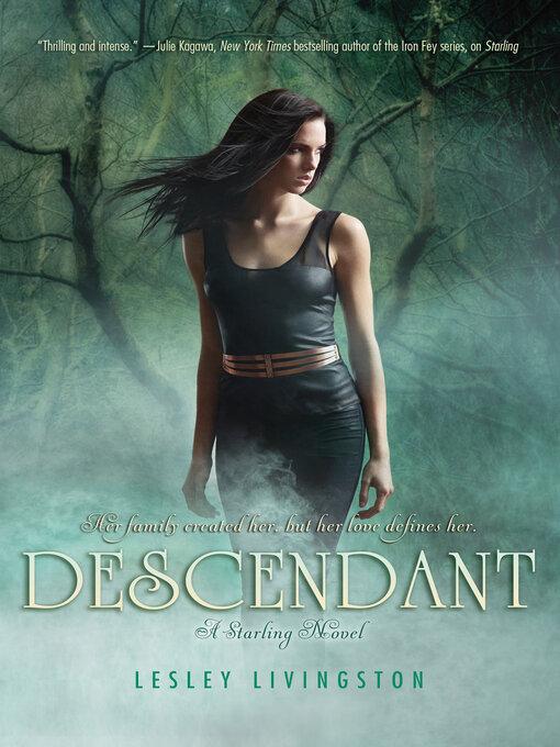 Title details for Descendant by Lesley Livingston - Wait list
