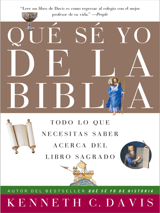 Title details for Que Se Yo de la Biblia by Kenneth C. Davis - Available