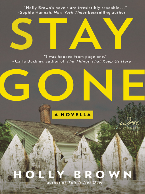 Cover of Stay Gone