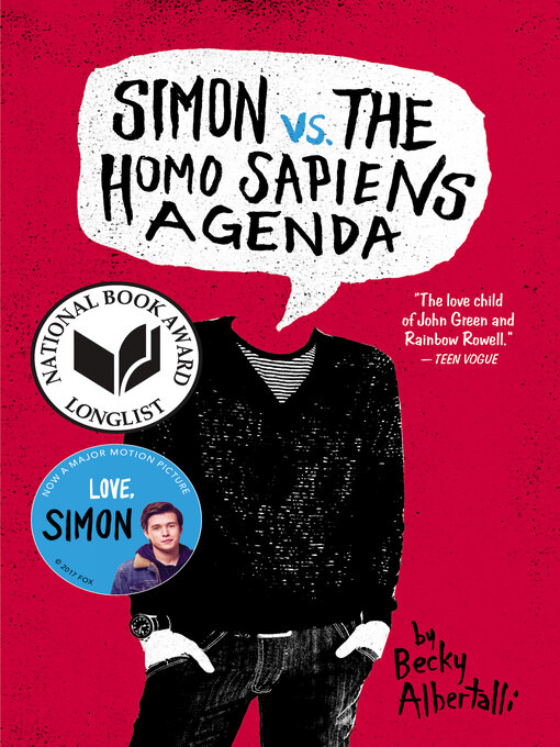 Title details for Simon vs. the Homo Sapiens Agenda by Becky Albertalli - Wait list