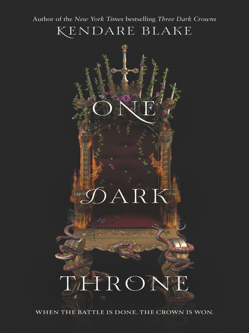 Cover of One Dark Throne