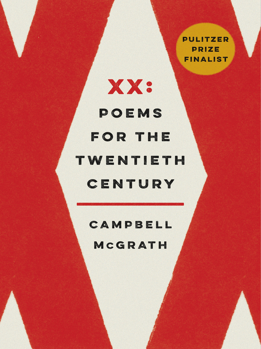 Title details for XX by Campbell McGrath - Available