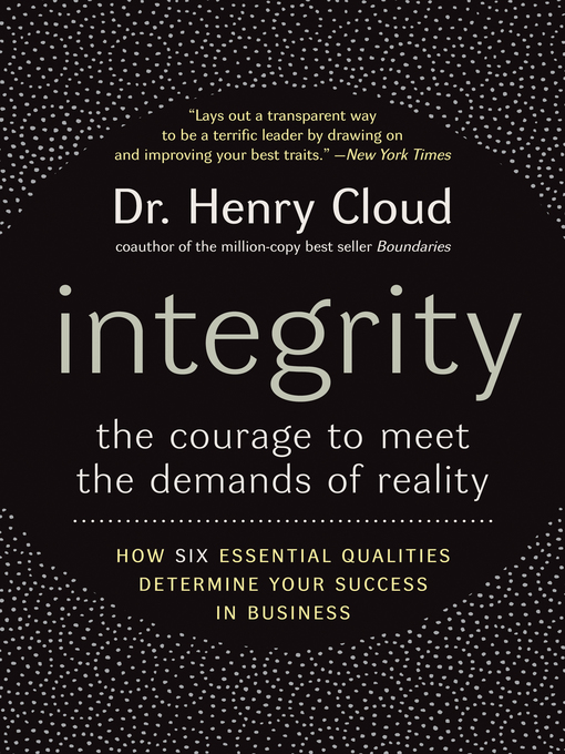 Title details for Integrity by Henry Cloud - Available