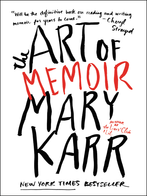 Cover of The Art of Memoir