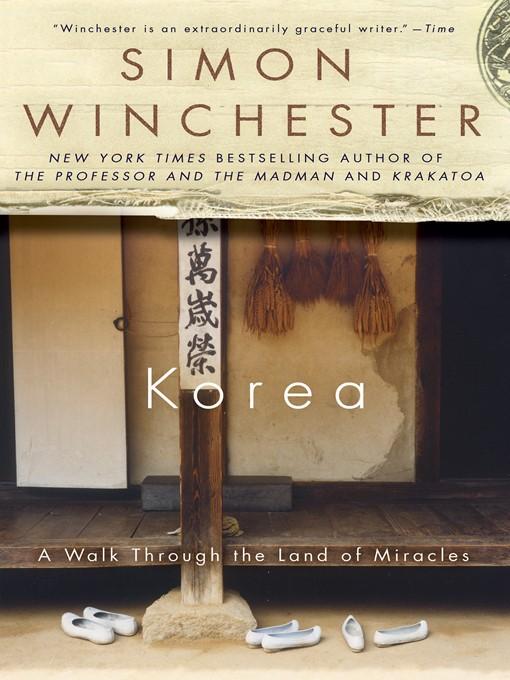 Title details for Korea by Simon Winchester - Wait list
