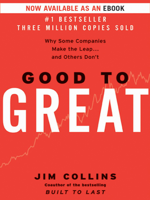 Title details for Good to Great by Jim Collins - Available