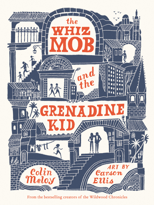Titelansicht von The Whiz Mob and the Grenadine Kid