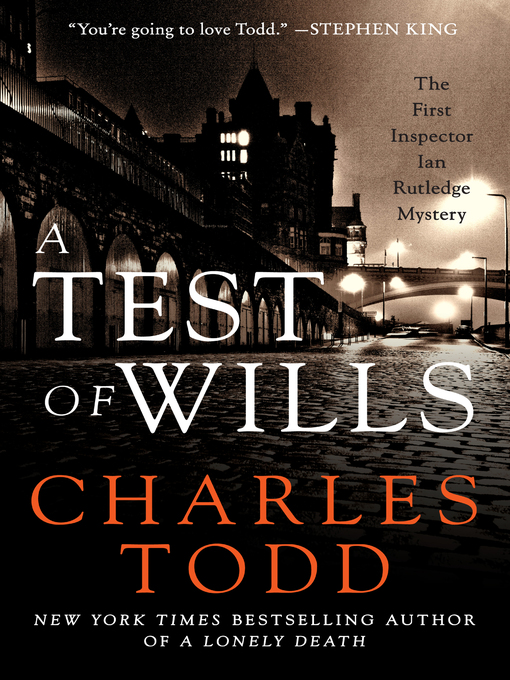Title details for A Test of Wills by Charles Todd - Wait list