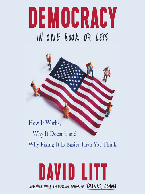 Title details for Democracy in One Book or Less by David Litt - Available