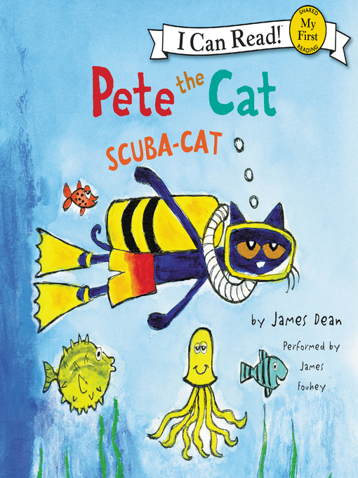 Title details for Scuba-Cat by James Dean - Available