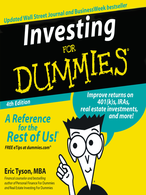Title details for Investing for Dummies® by Eric Tyson - Available