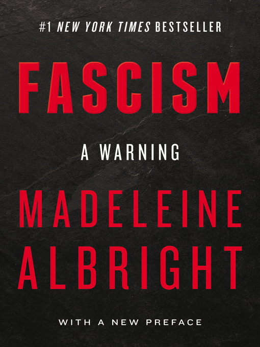 Title details for Fascism by Madeleine Albright - Wait list
