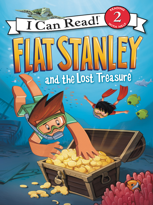 Cover image for Flat Stanley and the Lost Treasure