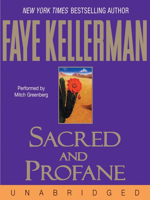 Title details for Sacred and Profane by Faye Kellerman - Wait list