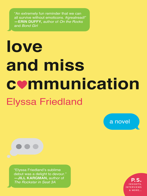 Cover of Love and Miss Communication