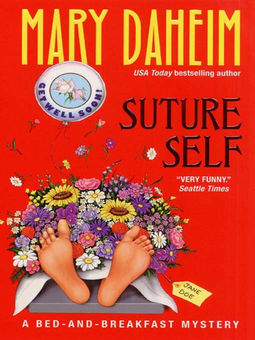 Title details for Suture Self by Mary Daheim - Wait list