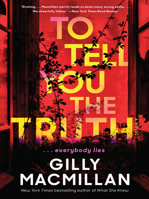 To tell you the truth a novel