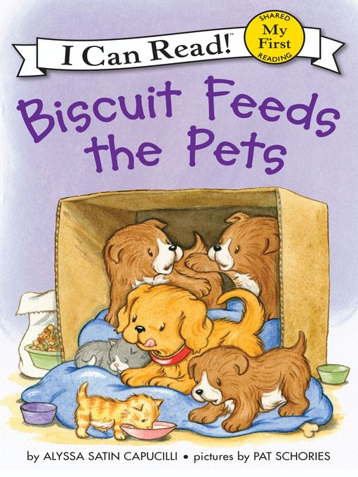 Cover image for Biscuit Feeds the Pets