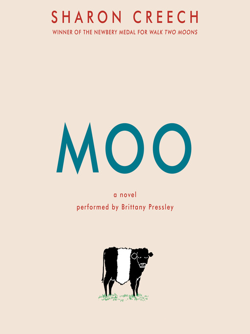 Title details for Moo by Sharon Creech - Wait list