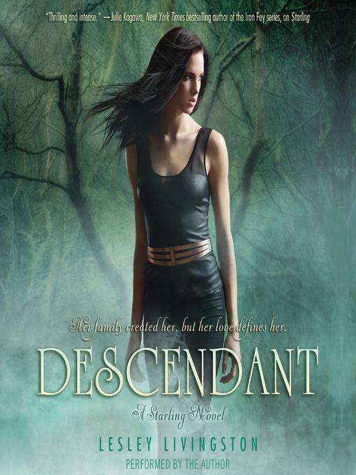 Title details for Descendant by Lesley Livingston - Available