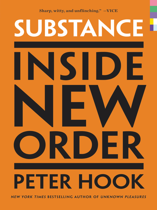 Title details for Substance by Peter Hook - Wait list